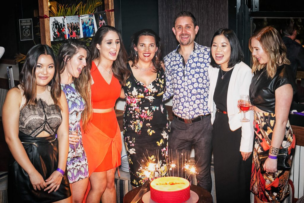 Image of the WordStorm PR team at their 15th Birthday