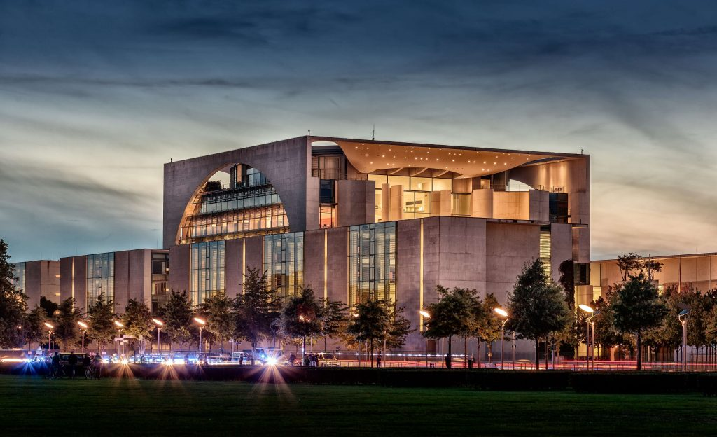 Picture of the German Federal Chancellery Building