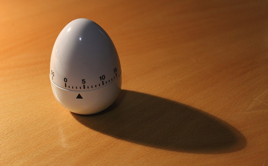 Picture of a egg timer