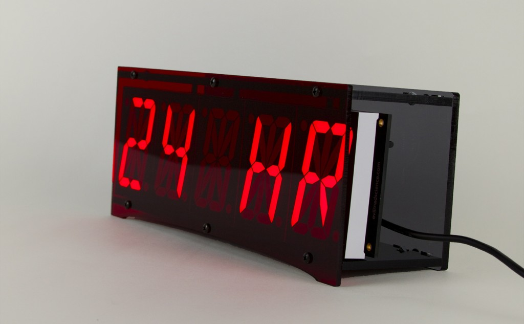 A Picture of a 24 hour digital clock