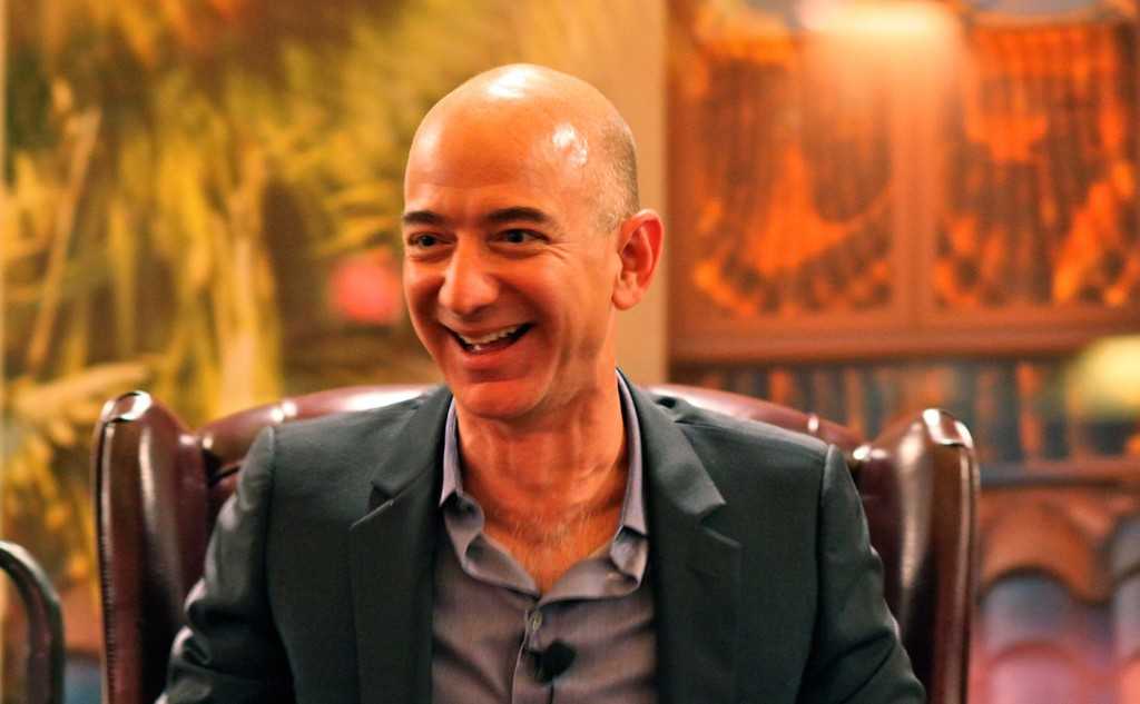 Picture of Amazon owner, Bezos' Iconic Laugh