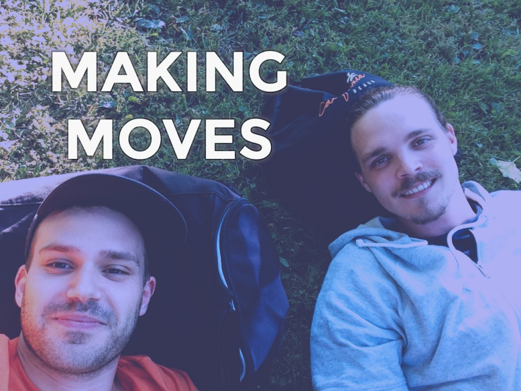 Picture of MakeMove Co-Founders Jonathan Lindahl & Sam Englund