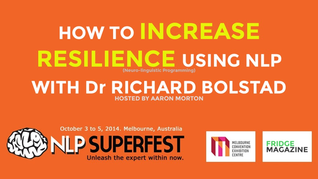 Picture of the words How To Increase Resilience Using NLP