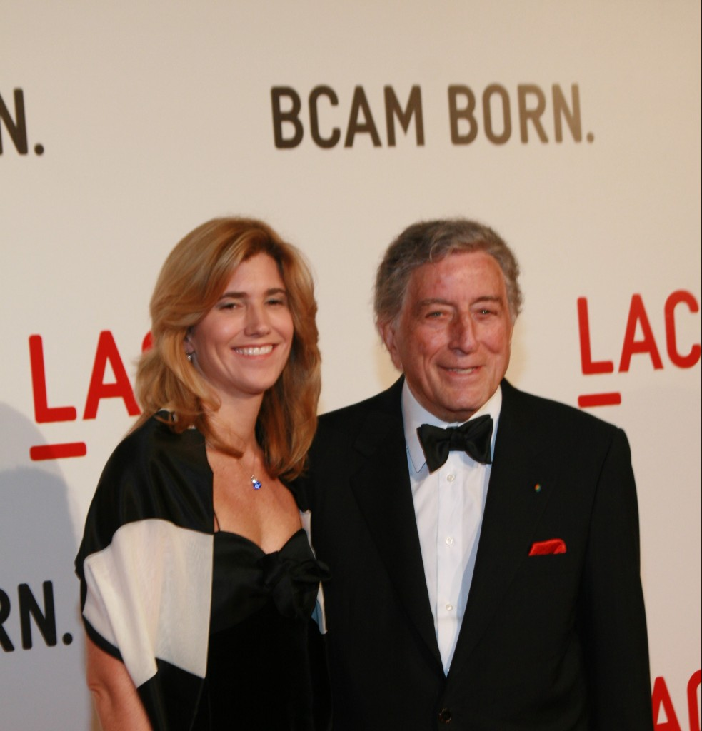 Picture of Tony Bennett and Susan Crow