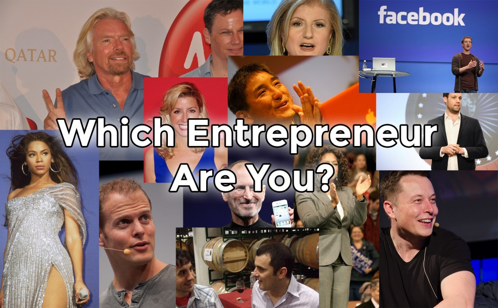Picture of many entrepreneurs with the title on