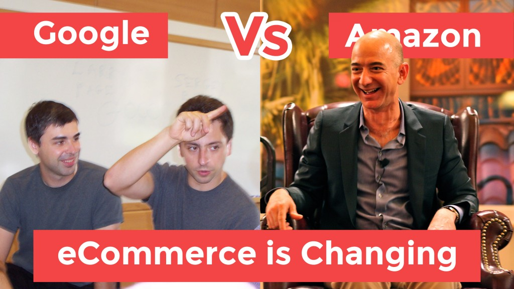 Picture of the founders of Google, Larry page and Sergey Brin & founder of Amazon Jeff Bezos to show how The Big Changes In eCommerce