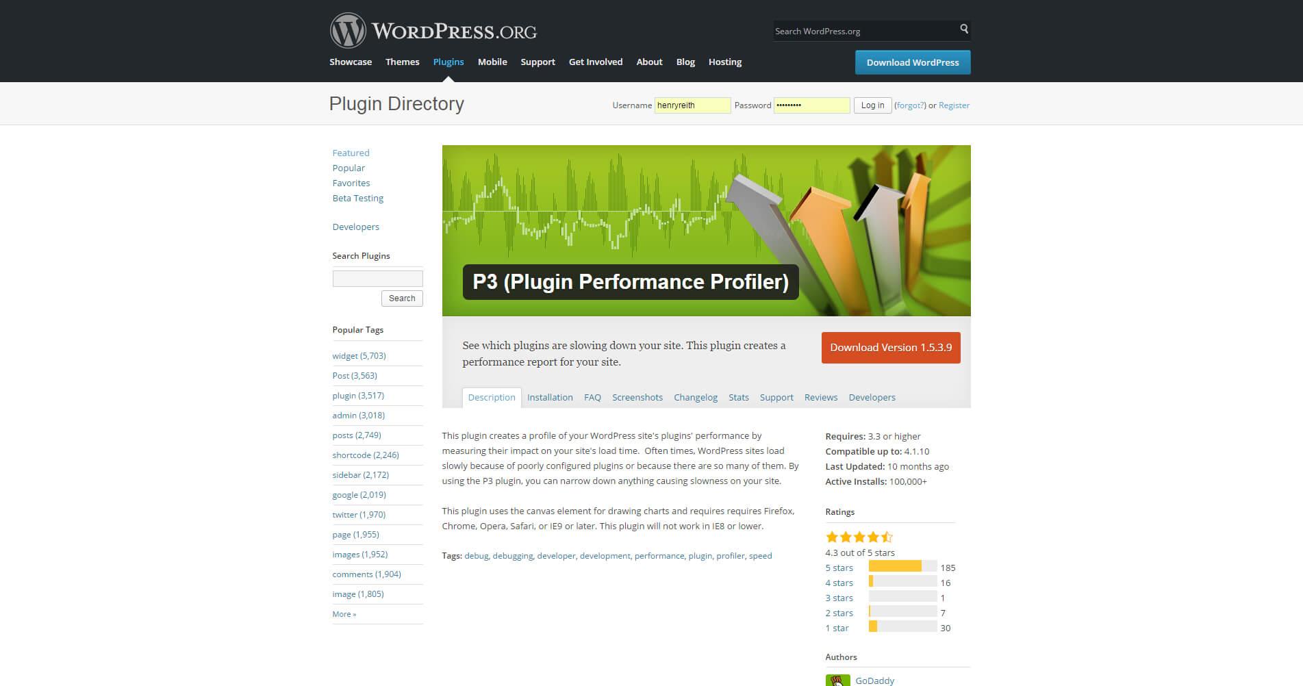 Speed-Up-Wordpress-P3-Plugin-Performance-Profiler-Wordpress-Plugin