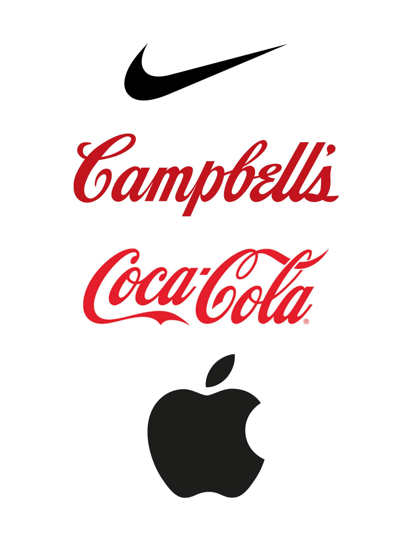big brand logos nike coca cola apple campbells fridge. Black Bedroom Furniture Sets. Home Design Ideas