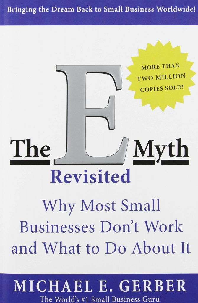 Image of the E-Myth Revisited front cover
