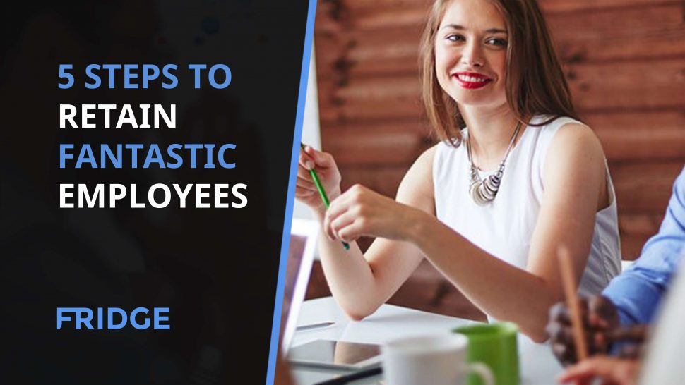 Employee showing How to Retain Fantastic Employees